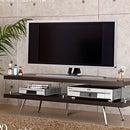 テレビボード テレビ台 46型 まで対応 ガラス製 TV台 AV収納TVボードテレビ台AVボードTVラックテレビラック 42型 37型 32型 アウトレットセールインテリアモダン送料無料送料込みホワイト白ブラウン