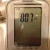 本日の体重 2012/06/21の画像