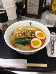東陽のブログ-登竜門 坦々麺