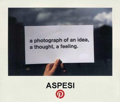 『ASPESI がPinterestはじめました!』