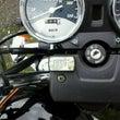 バイクに時計を!