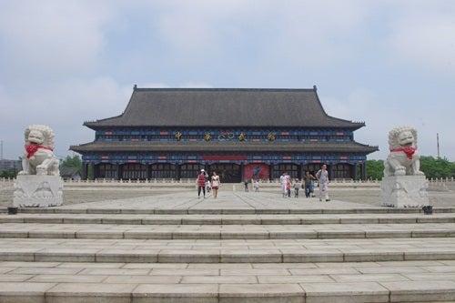 中国大連生活・観光旅行ニュース**-大連 金石灘 中華武館