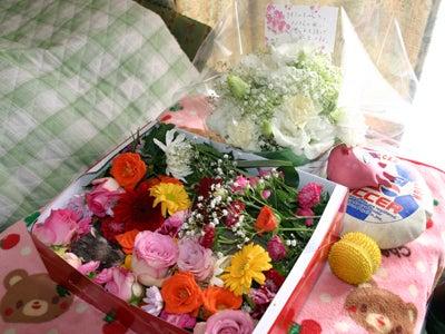 CHERRY'S VOICE-お花と大好きだった物と一緒に・・・