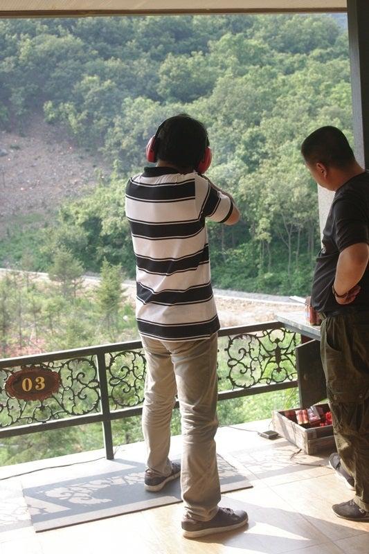 中国大連生活・観光旅行ニュース**-大連 射撃場
