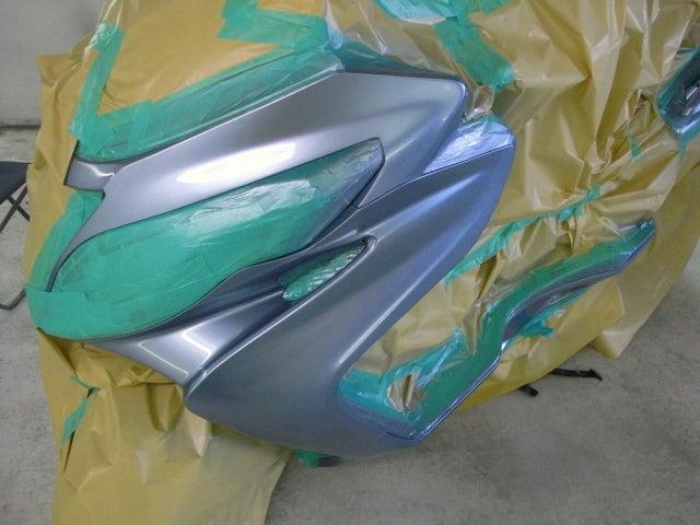 京都の女職人が書く車のブログ☆★-スクーター 塗装