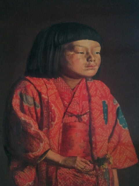 ロードバイクとドラムを愛す山口の歴史好きヤマポタ日記日本で最も有名な、前髪ぱっつんの少女 麗子を観たよ♪