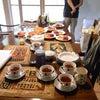朝ご飯の風景IN山中湖の画像