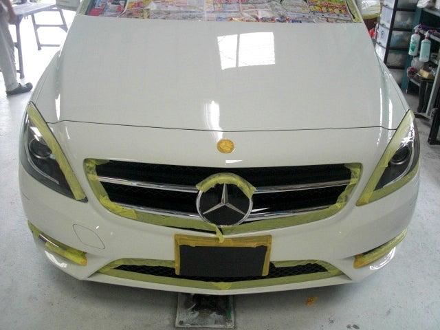 京都の女職人が書く車のブログ☆★-ベンツ B180