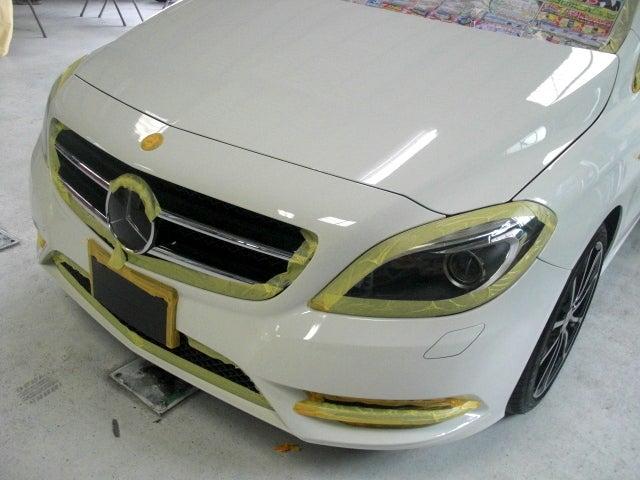 京都の女職人が書く車のブログ☆★-ベンツ ガラスコーティング