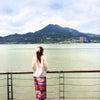 香港の海の画像