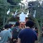 氷川神社で「茅の輪く…