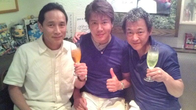 特撮バー・クリスタルスカイのブログプリズムフラッシュ!垂水藤太さんと植村喜八郎さんご来店!コメント