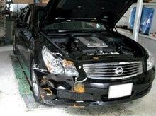京都の女職人が書く車のブログ☆★-スカイライン 凹み