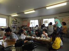浄土宗災害復興福島事務所のブログ-20120705高久第一②