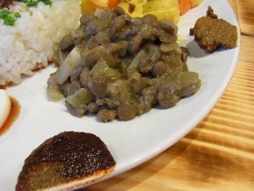 ランチ de 諸国漫遊-de' Afrique 14 レンズ豆のサラダ