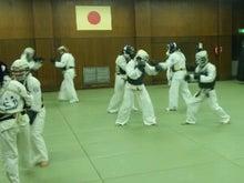 オジジと日本拳法-練習風景①