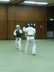 オジジと日本拳法-練習風景②