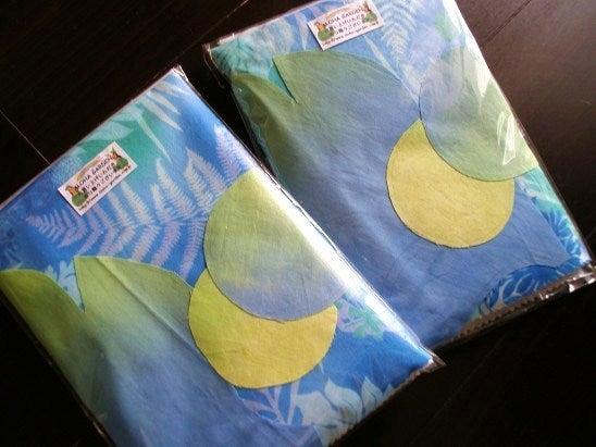 $Hawaiian Quilt Garden-グラデーションウルミニクッション裏