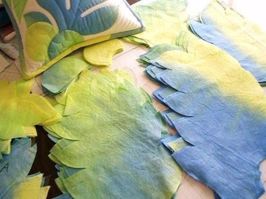 $Hawaiian Quilt Garden-グラデーションウル