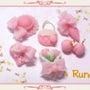 ★桃の小物パーツ★
