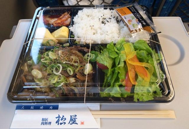 松屋の弁当