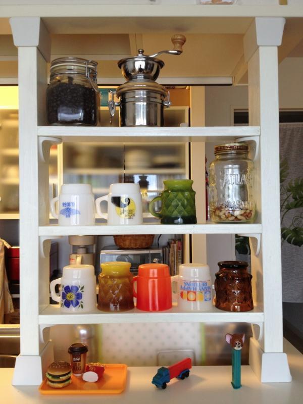 $好きなモノに囲まれていたい!!-カフェコーナーDIY_05