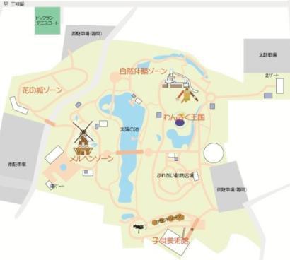 アンデルセン公園 地図