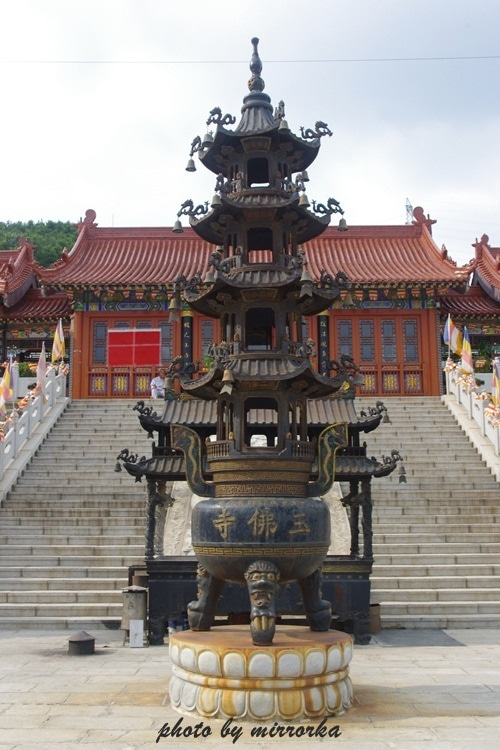 中国大連生活・観光旅行ニュース**-大連 玉佛寺
