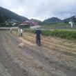 大豆植え付け