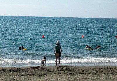 $ときどきグルメになりたくなるブログ-釜谷浜海水浴場(秋田県三種町)10