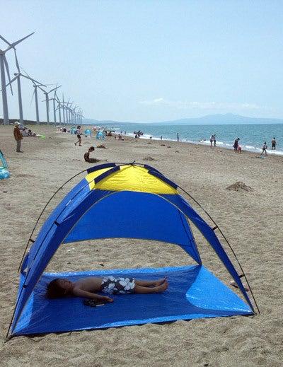 $ときどきグルメになりたくなるブログ-釜谷浜海水浴場(秋田県三種町)1