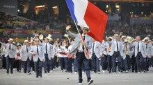 オリンピック!フランス選手団の...