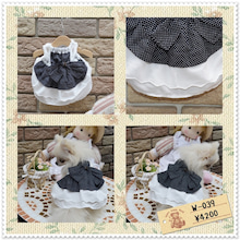手作り犬服 twinklesnow&merci Bのブログ-ポメラニアンワンピ 手作り犬服