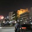 創成川からの花火