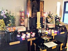 香林寺のブログ-五日法要 合同供養
