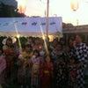 『夕方からのお祭りスケジュール』の画像
