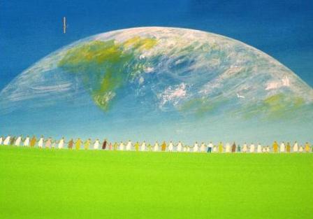 日本唐揚協会会長の日常-世界平和