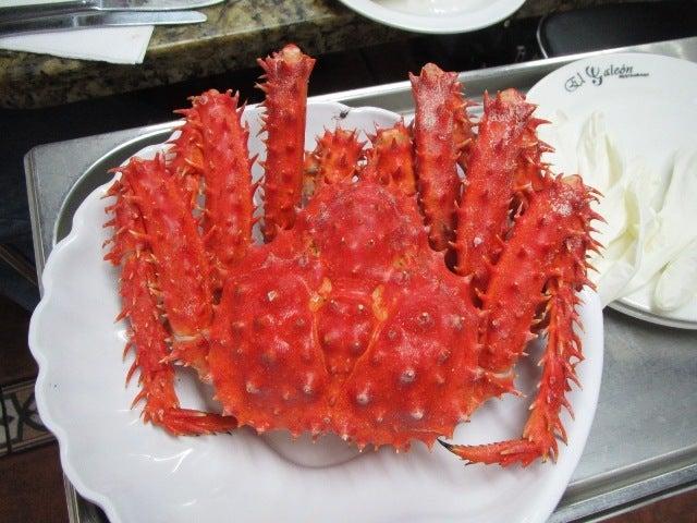LUCHOの私的チリ潜入記-カニホール