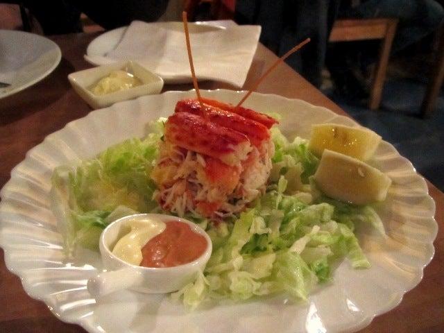 LUCHOの私的チリ潜入記-カニ高級皿