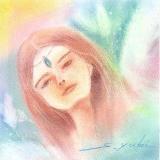 さいたま(川越・志木)にてパステルアート・エンジェルアート(天使画)・リコネクション・タロット~Hamied Angel