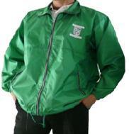 緑ジャンパー