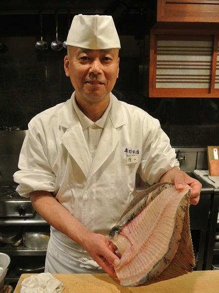 銀座由美ママの心意気-銀座寿司幸本店 檜山博之氏とマコガレイ