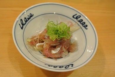 銀座由美ママの心意気-銀座寿司幸本店 佐島の鯵