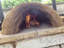 三鷹オーガニック農園へようこそ!-手作りの薪窯です。