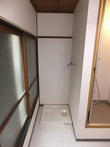 池袋の小さい不動産屋さん-日高荘・洗濯機置場