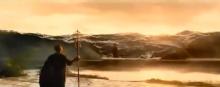 三角絞めでつかまえて-津波が!