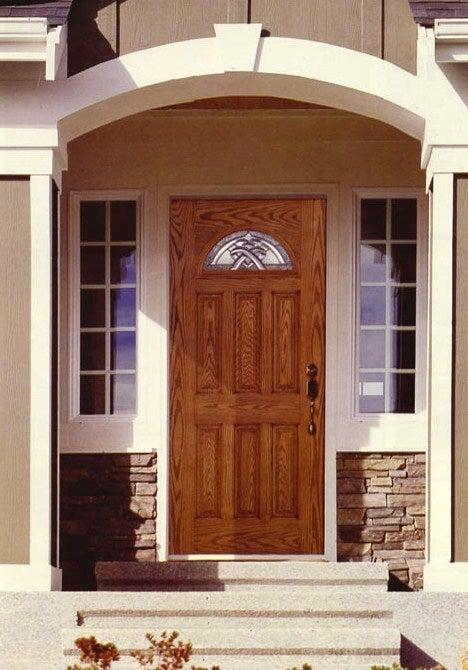輸入玄関ドアはとても個性的です。