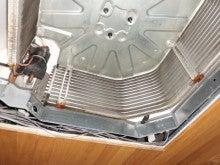 洗浄前の熱交換器