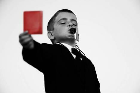 Freja-red-card