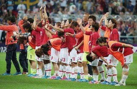 サッカー日本代表 ロンドンオリンピック 決勝戦 なでしこジャパン アメリカ 準優勝